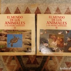 Cine: EL MUNDO DE LOS ANIMALES Y SU MEDIO AMBIENTE II LASER DISC. Lote 181926142