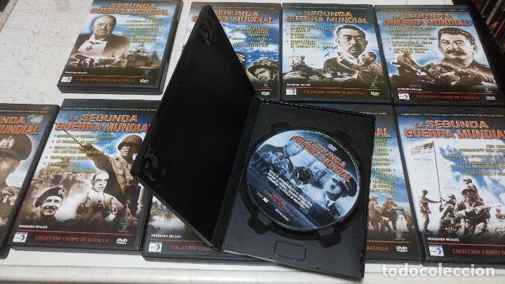 Cine: coleccion la segunda guerra mundial 10 dvds buen estado - Foto 2 - 181933090
