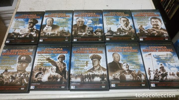 Cine: coleccion la segunda guerra mundial 10 dvds buen estado - Foto 4 - 181933090