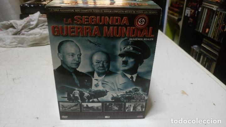 COLECCION LA SEGUNDA GUERRA MUNDIAL 10 DVDS BUEN ESTADO (Cine - Posters y Carteles - Documentales)