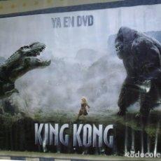 Cine: CARTEL POSTER PELÍCULA KING KONG - UNIVERSAL STUDIOS 2005. Lote 181992297