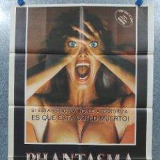 Cine: PHANTASMA. A. MICHAEL BALDWIN, ANGUS SCRIMM. AÑO 1979. POSTER ORIGINAL. Lote 182198697