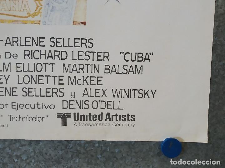 Cine: CUBA. Sean Connery, Brooke Adams, Jack Weston AÑO 1979 POSTER ORIGINAL - Foto 4 - 182204657