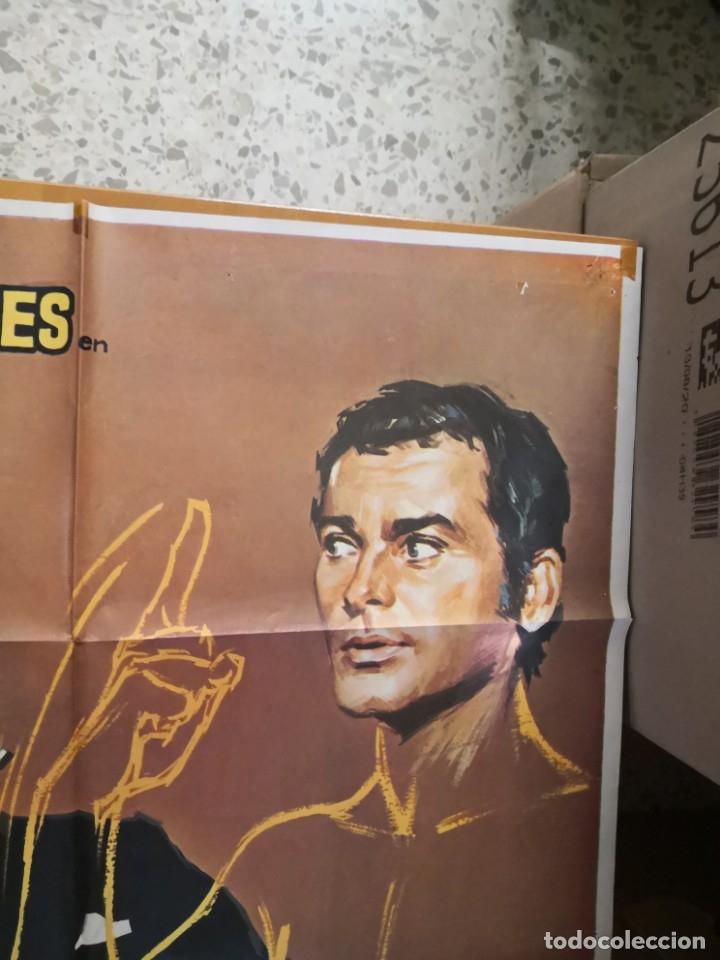 Cine: EL HOMBRE INVISIBLE - DEAN JONES. AÑO 1972 ARTICULO ORIGINAL 100% 100 x 70 cm. aprox. - Foto 3 - 182252475