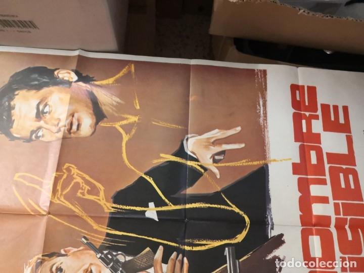 Cine: EL HOMBRE INVISIBLE - DEAN JONES. AÑO 1972 ARTICULO ORIGINAL 100% 100 x 70 cm. aprox. - Foto 5 - 182252475