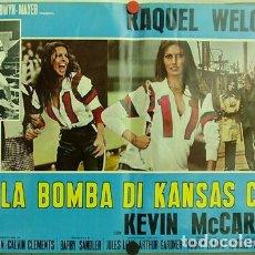 Cine: T8127D KANSAS CITY BOMBER RAQUEL WELCH PATINAJE ROLLER SET 10 POSTER ORIGINAL ITALIANO 47X68. Lote 182375216
