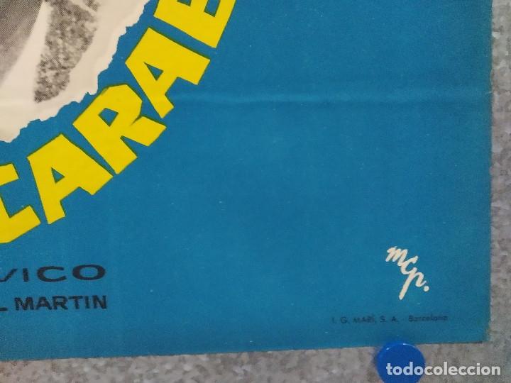 Cine: La cuarta carabela. Antonio Ozores, Maria Piazzai AÑO 1963. POSTER ORIGINAL. - Foto 4 - 182405661