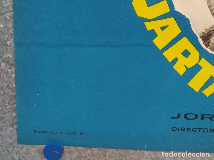 Cine: La cuarta carabela. Antonio Ozores, Maria Piazzai AÑO 1963. POSTER ORIGINAL. - Foto 5 - 182405661