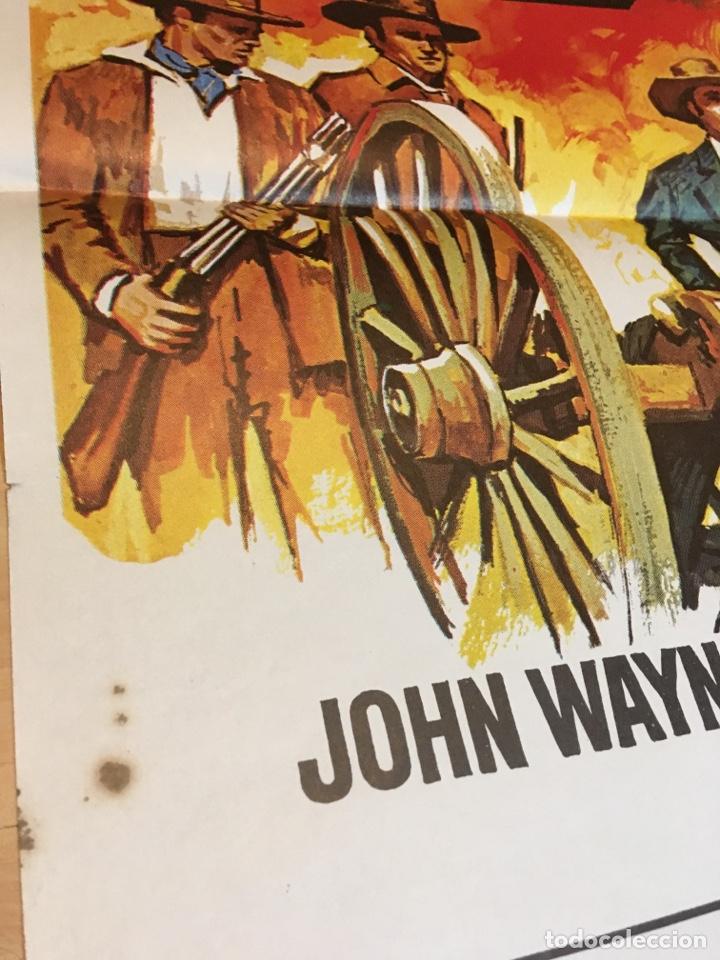 Cine: poster 100x70 El Alamo de John Wayne - Foto 2 - 182433786