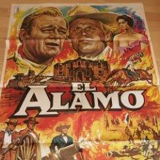 Cinema: POSTER 100X70 EL ALAMO DE JOHN WAYNE. Lote 182433786
