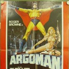 Cine: CK70D ASALTO A LA CORONA DE INGLATERRA ARGOMAN ROGER BROWNE POSTER ORIGINAL ITALIANO 68X94. Lote 182765078