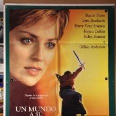 Cine: MUNDO A SU MEDIDA, UN PETER CHELSOM 1997. Lote 182818636