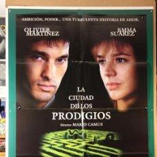 Cine: CIUDAD DE LOS PRODIGIOS, LA MARIO CAMUS 1999. Lote 182818677