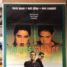 Cine: JUEGOS SALVAJES WILARD CARROLL 1999. Lote 182818680