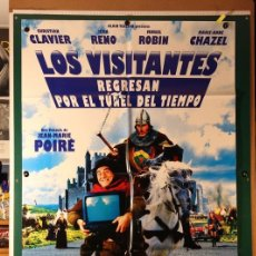 Cine: VISITANTES REGRESAN POR EL TÚNEL DEL TIEMPO, LOS JEAN-MARIE POIRÉ 1997. Lote 182818681