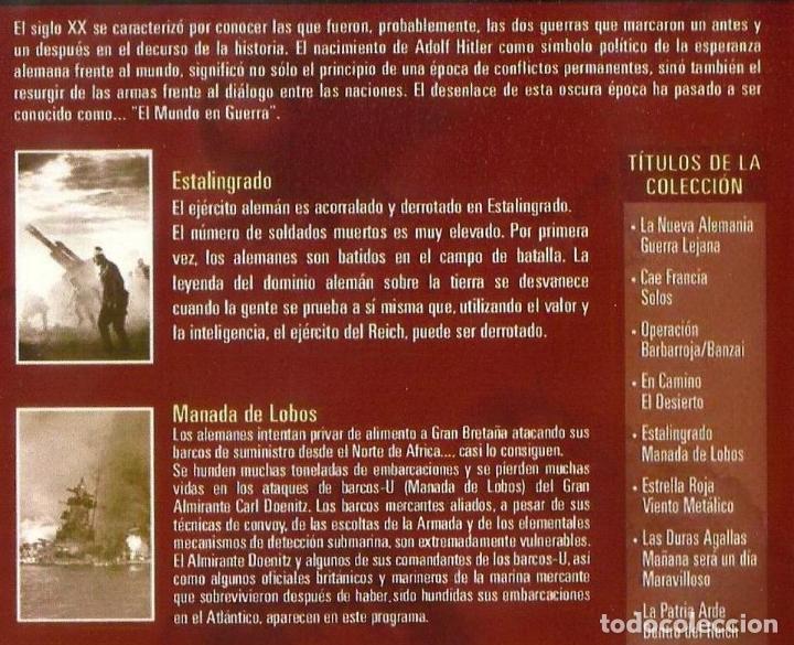 Cine: Documental El mundo en Guerra. galardonada con el premio EMMY 26 dvd completa buen estado ver ficha - Foto 2 - 183097411