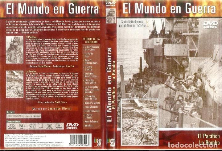 DOCUMENTAL EL MUNDO EN GUERRA. GALARDONADA CON EL PREMIO EMMY 26 DVD COMPLETA BUEN ESTADO VER FICHA (Cine - Posters y Carteles - Documentales)
