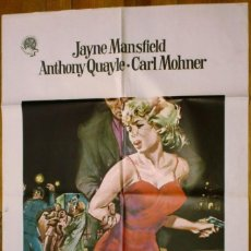 Cine: CARTEL: EL RETO (JOHN GILLING) - JAYNE MANSFIELD - . Lote 183176651