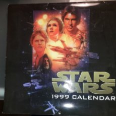 Cine: CALENDARIO STAR WARS DE 1999. Lote 183194848