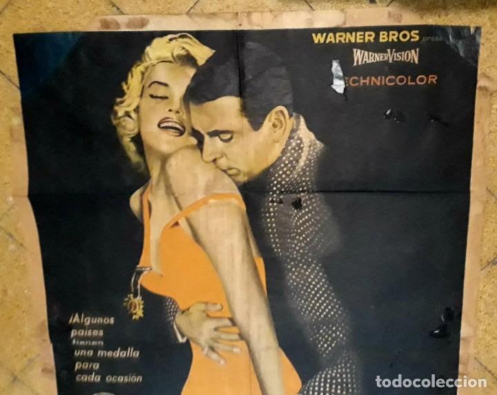 Cine: Poster original El príncipe y la corista Marilyn Monroe Laurence Oliver 75 x 105 - Foto 4 - 183218551