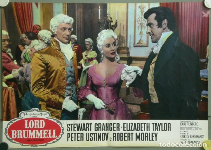 Cine: TU28D BEAU BRUMMELL ELIZABETH TAYLOR STEWART GRANGER SET 10 POSTERS ORIGINALES ITALIANOS 47X68 - Foto 8 - 183436157