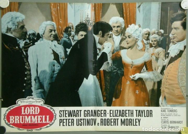 Cine: TU28D BEAU BRUMMELL ELIZABETH TAYLOR STEWART GRANGER SET 10 POSTERS ORIGINALES ITALIANOS 47X68 - Foto 9 - 183436157
