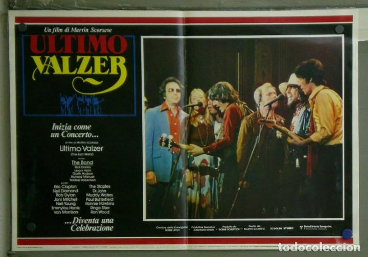 VD22D EL ULTIMO VALS BOB DYLAN RINGO STARR THE BAND SCORSESE SET 10 POSTERS ORIG ITALIANOS 47X68 (Cine - Posters y Carteles - Musicales)