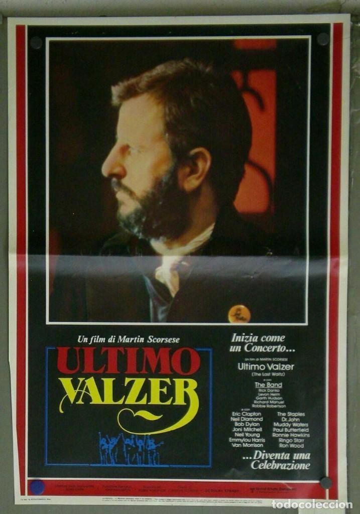 Cine: VD22D EL ULTIMO VALS BOB DYLAN RINGO STARR THE BAND SCORSESE SET 10 POSTERS ORIG ITALIANOS 47X68 - Foto 6 - 183456040