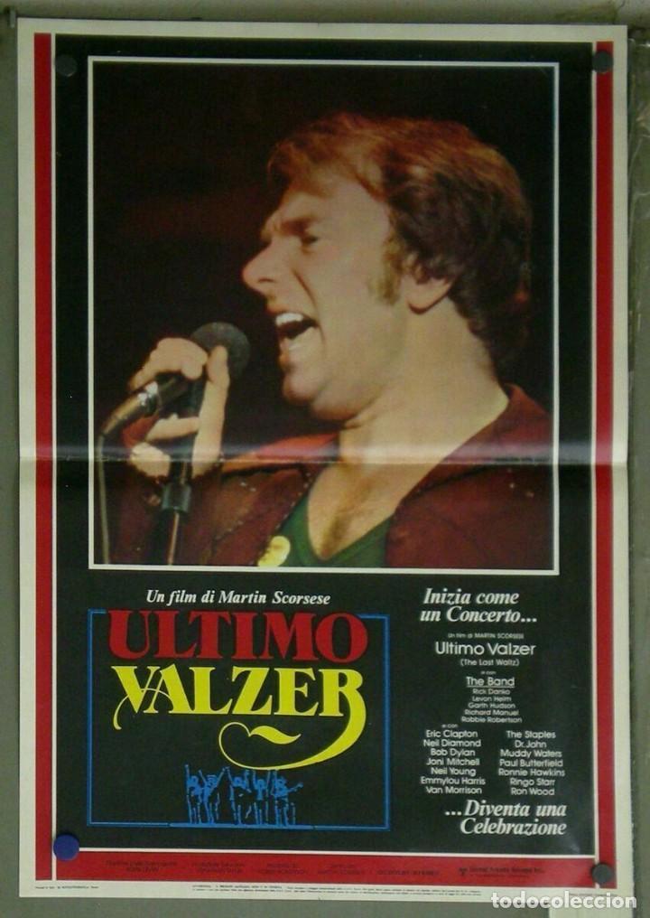 Cine: VD22D EL ULTIMO VALS BOB DYLAN RINGO STARR THE BAND SCORSESE SET 10 POSTERS ORIG ITALIANOS 47X68 - Foto 7 - 183456040