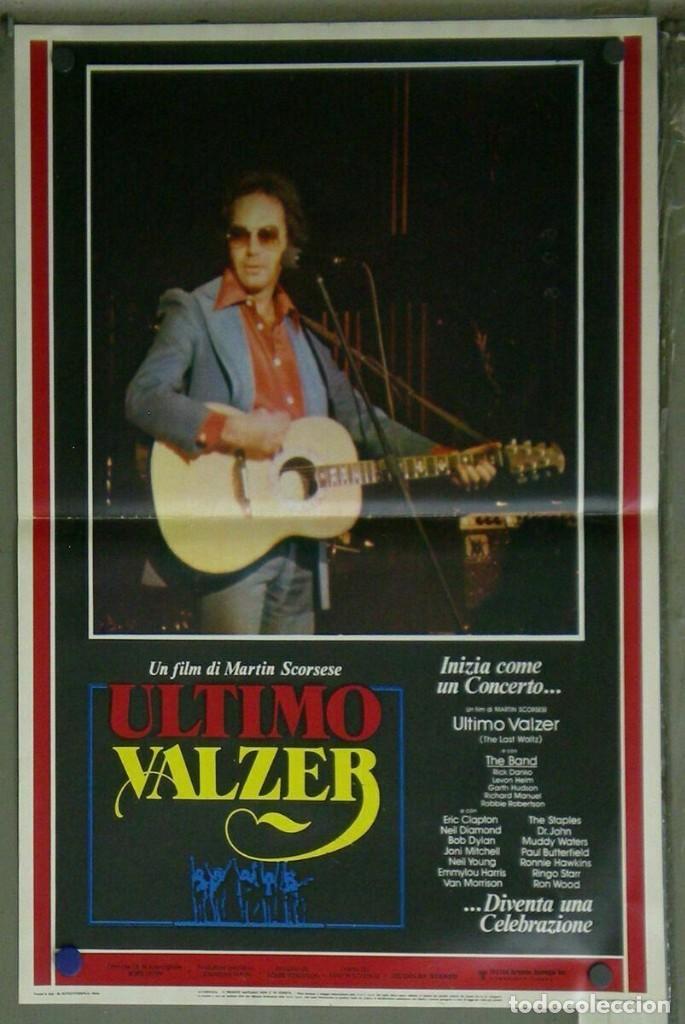 Cine: VD22D EL ULTIMO VALS BOB DYLAN RINGO STARR THE BAND SCORSESE SET 10 POSTERS ORIG ITALIANOS 47X68 - Foto 8 - 183456040