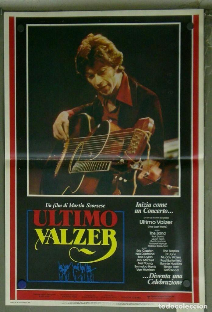 Cine: VD22D EL ULTIMO VALS BOB DYLAN RINGO STARR THE BAND SCORSESE SET 10 POSTERS ORIG ITALIANOS 47X68 - Foto 9 - 183456040