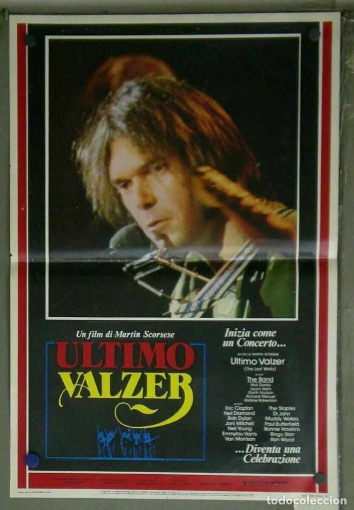Cine: VD22D EL ULTIMO VALS BOB DYLAN RINGO STARR THE BAND SCORSESE SET 10 POSTERS ORIG ITALIANOS 47X68 - Foto 10 - 183456040