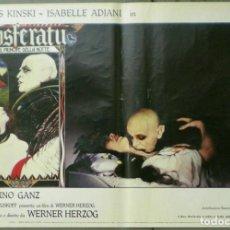 Cine: VE27D NOSFERATU VAMPIRO DE LA NOCHE KLAUS KINSKI WERNER HERZOG SET 8 POSTERS ORIG ITALIANOS 47X68. Lote 183463797