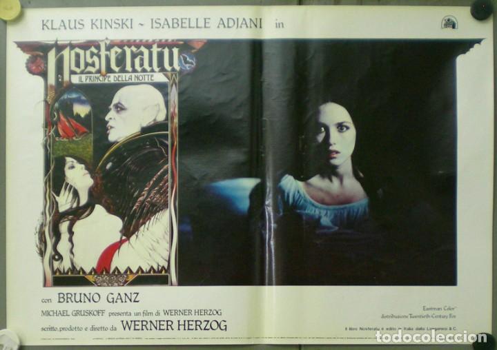 Cine: VE27D NOSFERATU VAMPIRO DE LA NOCHE KLAUS KINSKI WERNER HERZOG SET 8 POSTERS ORIG ITALIANOS 47X68 - Foto 2 - 183463797
