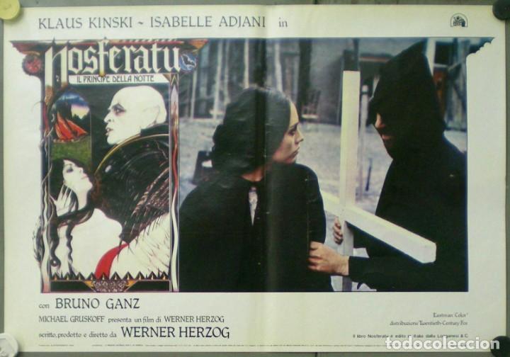 Cine: VE27D NOSFERATU VAMPIRO DE LA NOCHE KLAUS KINSKI WERNER HERZOG SET 8 POSTERS ORIG ITALIANOS 47X68 - Foto 5 - 183463797
