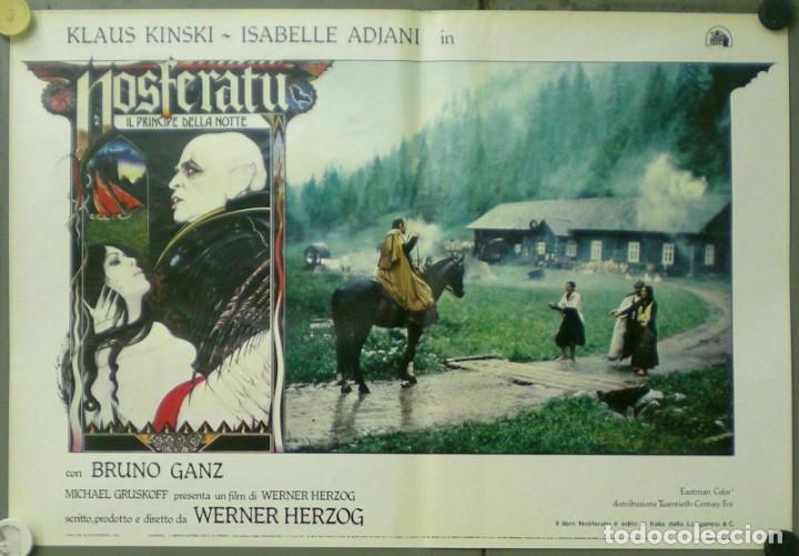 Cine: VE27D NOSFERATU VAMPIRO DE LA NOCHE KLAUS KINSKI WERNER HERZOG SET 8 POSTERS ORIG ITALIANOS 47X68 - Foto 7 - 183463797