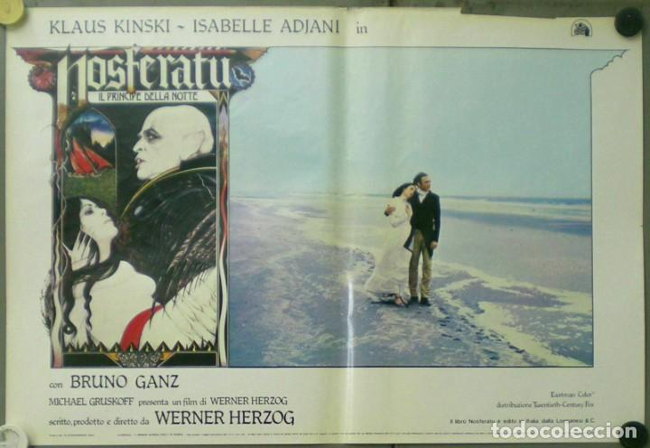 Cine: VE27D NOSFERATU VAMPIRO DE LA NOCHE KLAUS KINSKI WERNER HERZOG SET 8 POSTERS ORIG ITALIANOS 47X68 - Foto 8 - 183463797