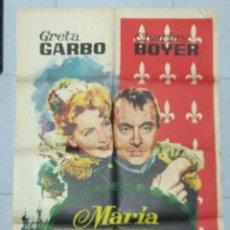 Cine: MARIA WALEWSKA - POSTER ORIGINAL CINE 1963.. Lote 183475096