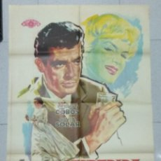 Cine: DESPEDIDA DE SOLTERO - POSTER ORIGINAL CINE 1960.. Lote 183475381