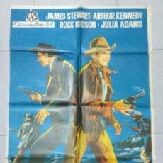 Cinema: HORIZONTES LEJANOS - POSTER ORIGINAL CINE 1966.. Lote 183475818