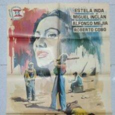 Cinéma: LOS OLVIDADOS - POSTER ORIGINAL CINE 1964.. Lote 183478366