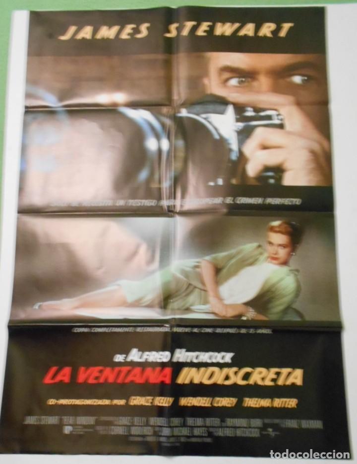 LA VENTANA INDISCRETA CARTEL POSTER CINE ORIGINAL 70X100 MOVIE POSTER SPAIN EDITION (Cine - Posters y Carteles - Acción)