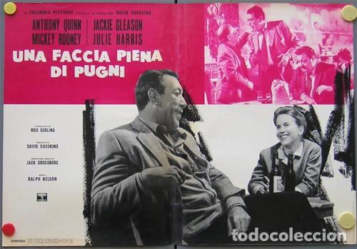 EM50D REQUIEM POR UN CAMPEON ANTHONY QUINN MUHAMMAD ALI BOXEO SET 10 POSTERS ORIG ITALIANOS 47X68 (Cine - Posters y Carteles - Deportes)