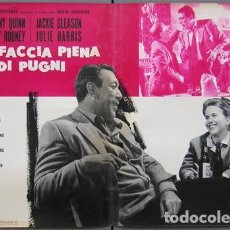 Cine: EM50D REQUIEM POR UN CAMPEON ANTHONY QUINN MUHAMMAD ALI BOXEO SET 10 POSTERS ORIG ITALIANOS 47X68. Lote 183499605