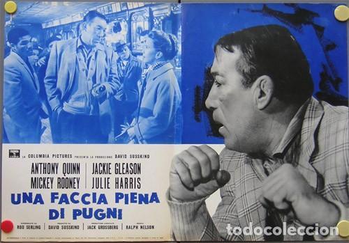 Cine: EM50D REQUIEM POR UN CAMPEON ANTHONY QUINN MUHAMMAD ALI BOXEO SET 10 POSTERS ORIG ITALIANOS 47X68 - Foto 2 - 183499605