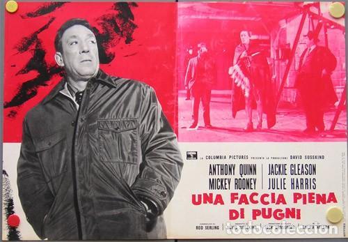 Cine: EM50D REQUIEM POR UN CAMPEON ANTHONY QUINN MUHAMMAD ALI BOXEO SET 10 POSTERS ORIG ITALIANOS 47X68 - Foto 5 - 183499605