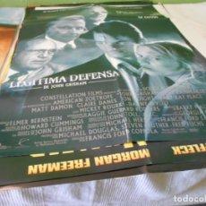 Cine: LEGITIMA DEFENSA CARTEL POSTER CINE ORIGINAL 70X100 CMS. Lote 183563183