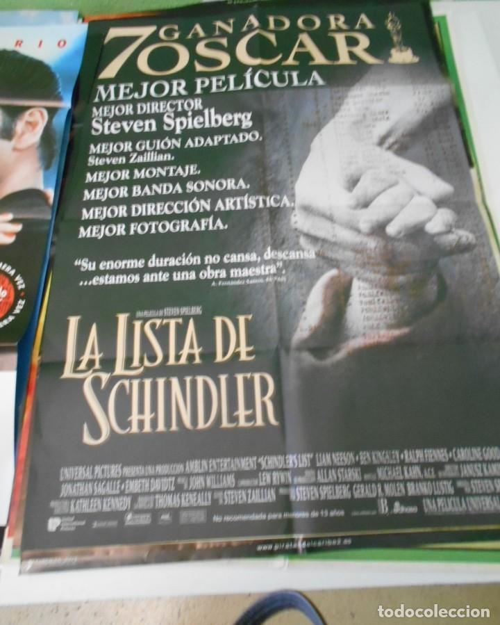 LA LISTA DE SCHINDLER CARTEL POSTER CINE ORIGINAL 70X100 CMS (Cine - Posters y Carteles - Acción)
