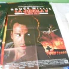 Cine: LA JUNGLA 2 BRUCE WILLIS CARTEL POSTER CINE ORIGINAL 70X100 CMS. Lote 183565192