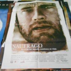 Cine: NAUFRAGO CARTEL POSTER CINE ORIGINAL 70X100 CMS. Lote 288035608